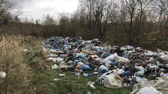 У Старосамбірському районі виявили несанкціоноване сміттєзвалище