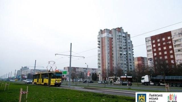 У Львові 17 листопада  відкриють трамвайну лінію на Сихів