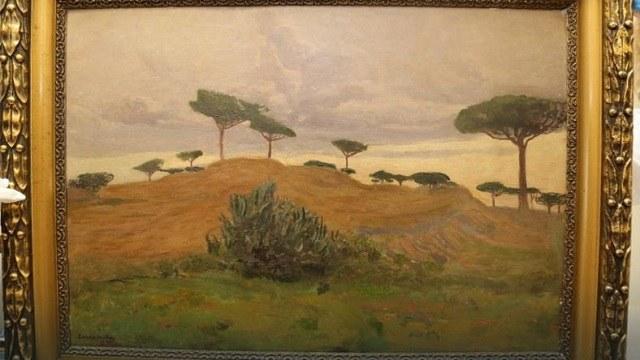 Пейзаж з околиць Неаполя