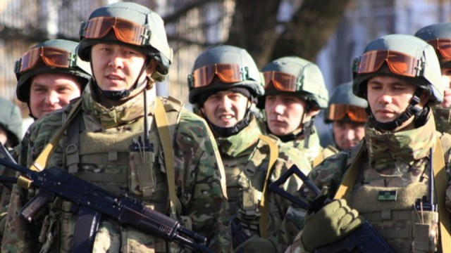 Командування 128 бригади привітало бійців із днем ВСУ